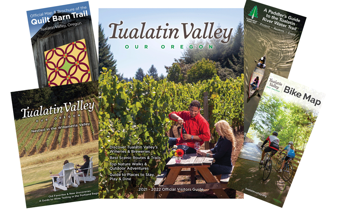 Tualatin Valley visitor materials