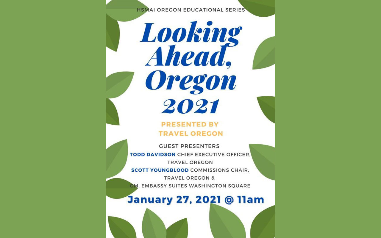 Looking ahead, Oregon 2021