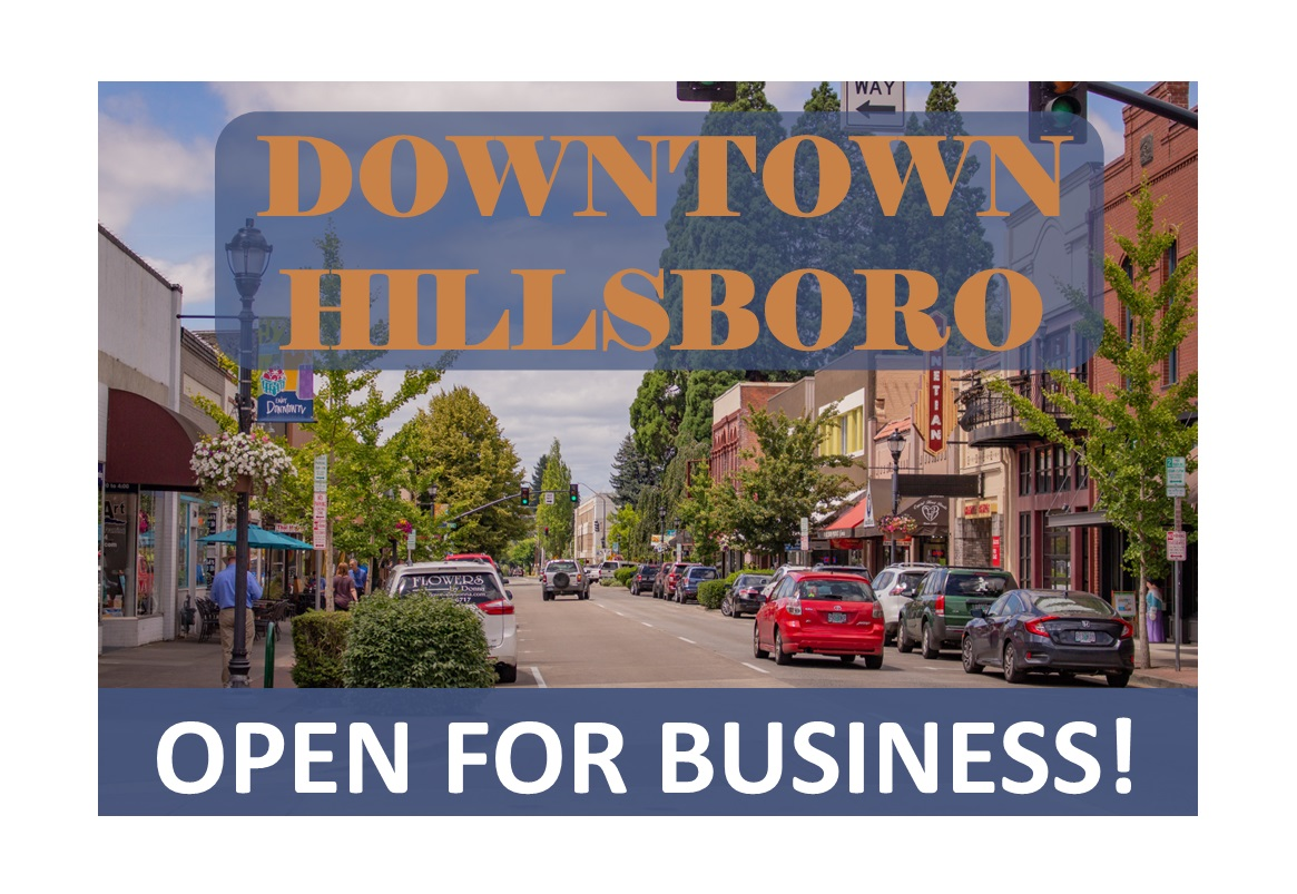 Hillsboro is open for business