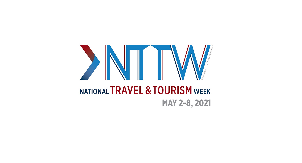 2021 National Travel & Tourism Week Logo