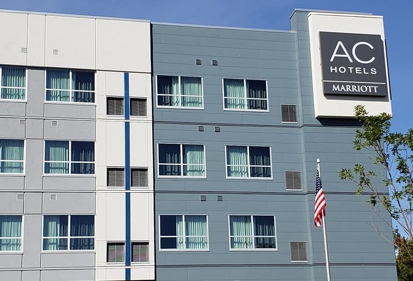 Exterior of the AC Hotel by Marriott
